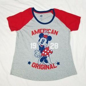 Disney  Minnie Mouse American Original Tee  XL